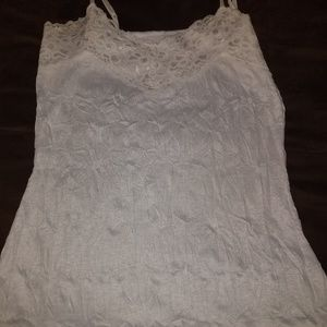 Vanity champagne laced cami